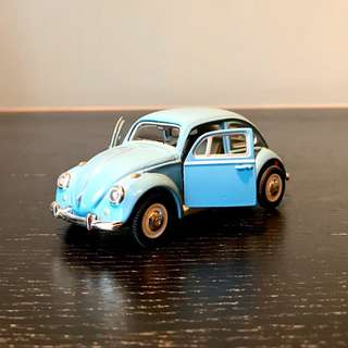 Schuco Junior Line BLUE VW Volkswagen Beetle 1:43 Kafer 27000 Diecast model