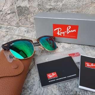 Ray-Ban RB3016 Clubmaster Flash Lenses-114519 RayBan太陽眼鏡