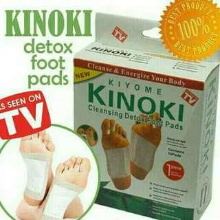 Kinoki White Detox Foot Pads Koyo Penyerap Racun