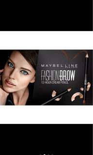 NEW MAYBELLINE FASHION BROW PENCIL