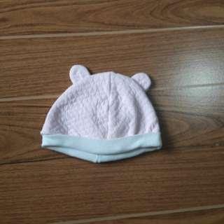 Pink Bonnet | 0-6 mos