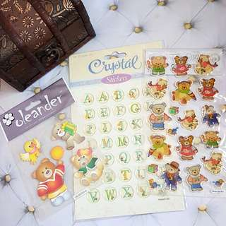🆕️Various Scrapbooking Stickers