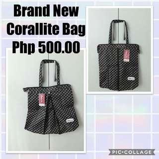 Brand new Corallite expandable bag