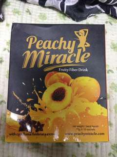 Peachy miracle fiber drink