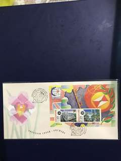 Singapore Miniature Sheet Souvenir cover as in Pictures