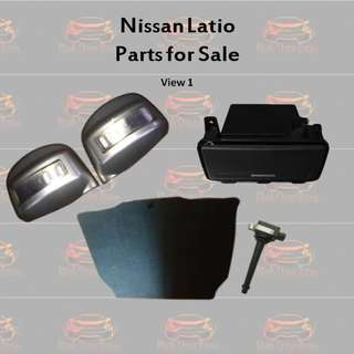 Nissan Latio Parts for Sale