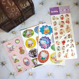 🆕️Various Hello Kitty Stickers