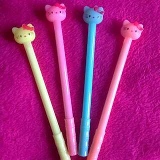 🐱 Hello Kitty Black Pen
