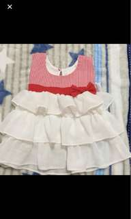 Free mail! 0-6 months dress almost new