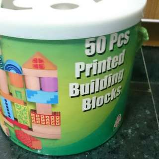 Little Builder's Favourite Printed Blocks & Shape Sorter