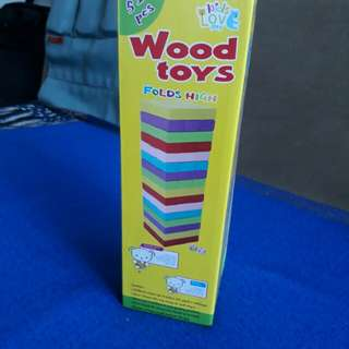 Brand new wooden toy