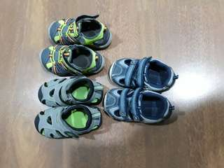 Lot of toddlers shoes (pediped stride rite)