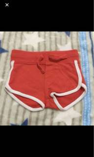 Free mail! 6-12 months fox shorts good condition