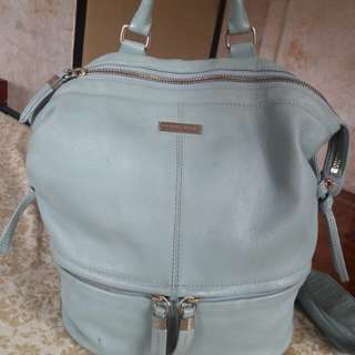 Patrice Breal Genuine Leather Backpack Bag