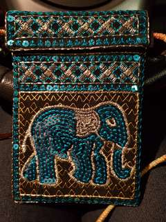 Handmade pouch from Thailand