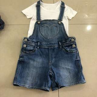 H&M Girl Jeans set (8-9 years)