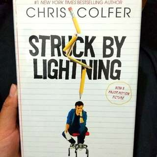 Struck by Lightning by Chris Colfer Hardcover Imported Books Novel