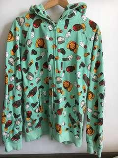 A bathing ape zip up 外套