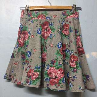 Floral Skirt free size
