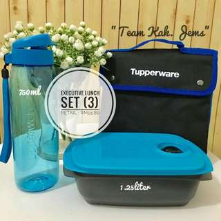 Tupperware Brands COMLETE SET LUNCH WITH BAG