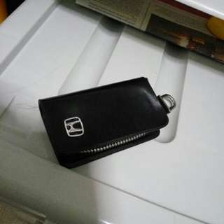 Honda leather smart key holder case pouch..