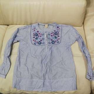 blouse girls kids o kayce xl age 9-10