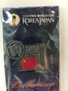 2002 世界盃 紀念 襟章
