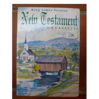 King James Version - New Testament on Cassette (Boxed Set of 12 tapes)