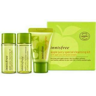 Innisfree Apple Juicy Special Cleansing kit