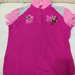 Polo Shirt for kids girls age 9-10