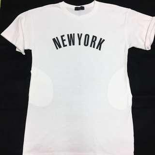 🚚 Made in Korea長版寬鬆短袖T恤