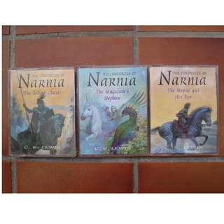 Chronicles of Narnia - Audio Books (Set of 3)