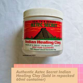 Authentic Aztec Secret - Indian Healing Clay (Repackaged)