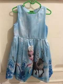 Dress Disney Elsa (verygoodcondition)