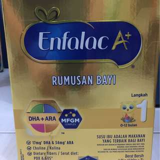 Enfalac A+ Step 1 Milk Powder 1.8KG (100% Genuine)