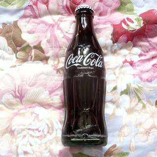 (已售) 可口可樂日本190毫升英文白字玻璃樽