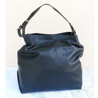 ZARA trafulac black tote bag