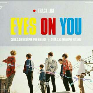 [PO] GOT7 EYES ON YOU ALBUM