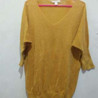 Reprice# Yellow blouse#