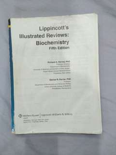 Lippincott's biochemistry medical book