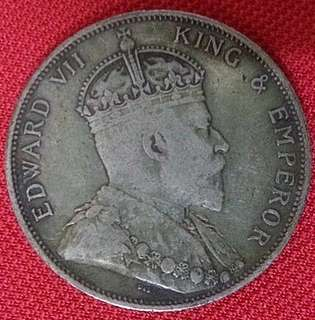 Straits Settlements Edward VII King & Emperor 1905