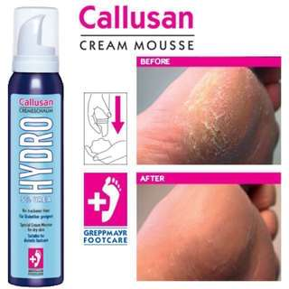 Germany Callusan Cream Mousse 125 ml (Hydro)