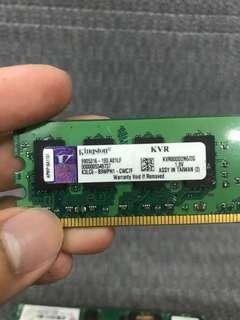 🚚 金士頓DDR800 2G