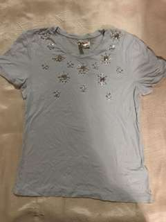 H&M Beaded Top