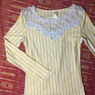 Callia Yellow Longsleeves