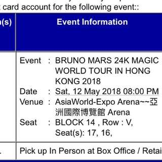 Bruno Mars 24K World Tour