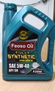MINYAK ENJIN FEOSO OIL ( Promo FREE POS)