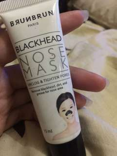 Burn burn black head nose mask