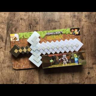 Minecraft light up adventure sword