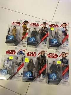 Star Wars The Last Jedi x 6